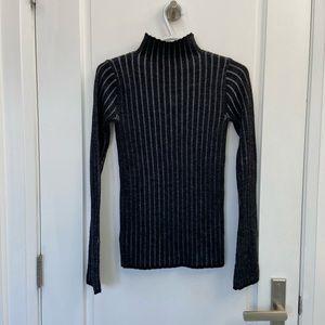 Wilfred mock neck long sleeve knit size xs